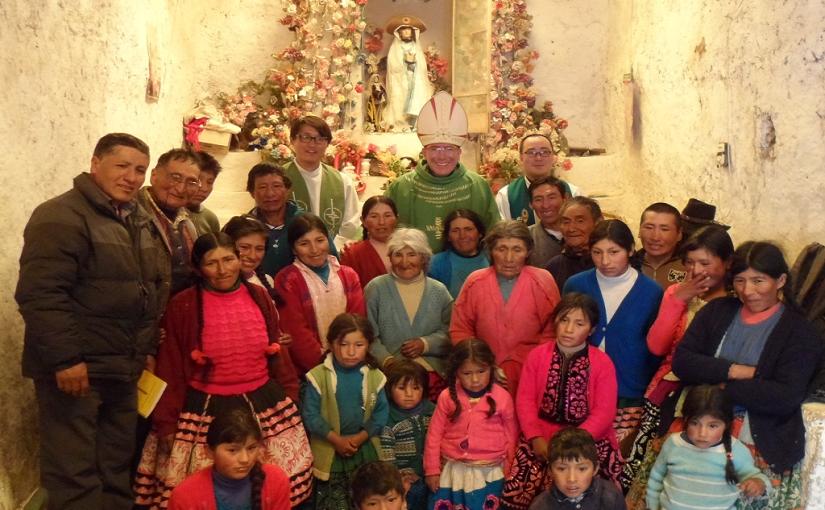Visita pastoral a la capilla de Yancamachico